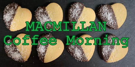 Macmillan Coffee Morning @ Ultimate Cafe Kingston tickets