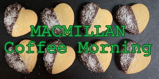 Macmillan Coffee Morning @ UK Coffee Shop