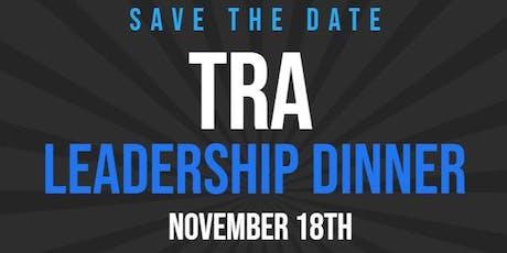 TRA Leadership Dinner tickets
