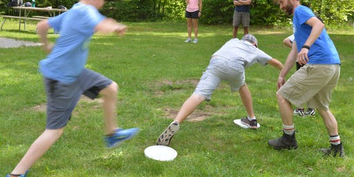 Family Nature Day - Team Dynamics (age 4-11) and Team Dynamics with Low Ropes (age 12-19)
