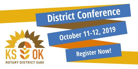 Rotary District 5680 Conference tickets