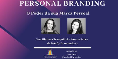 Personal Branding - O Poder da sua Marca Pessoal tickets