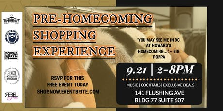 Pre-Homecoming Shopping Experience tickets