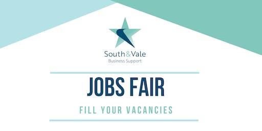 Job Fair Employers Stand