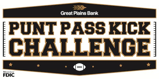 Great Plains Bank Punt, Pass, Kick Challenge - October 4