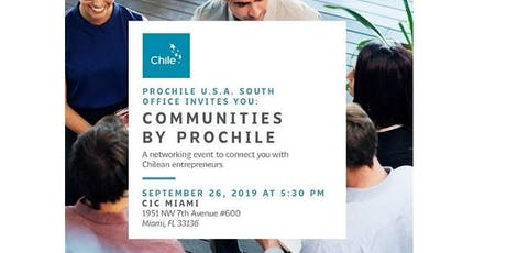 Networking event: COMMUNITIES BY PROCHILE tickets