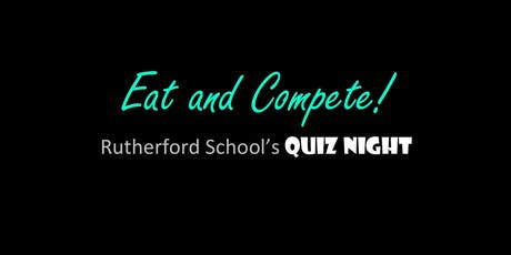 Rutherford School Quiz Night tickets