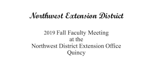 2019 Northwest District Extension Faculty Meeting
