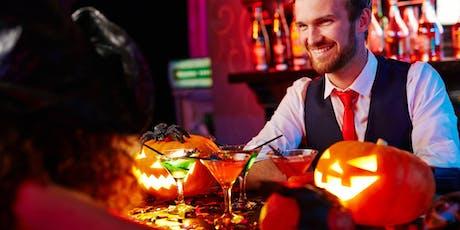 Parliament's Halloween Cocktail Class & Dinner tickets