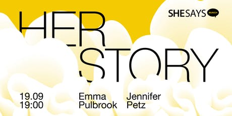 SheSays Munich: Her Story tickets
