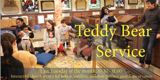 Teddy Bear Church for Babies & Toddlers - Do not worry