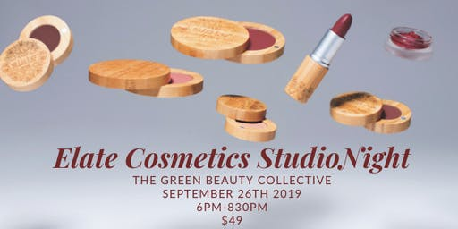 Green Beauty Collective, Elate Studio Night Ft. Rise Collection