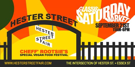 Hester Street Fair's Vegan Food & Futureworks NYC tickets