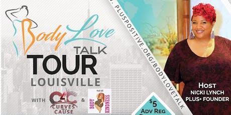 PLUS+ #BodyLove Talk Tour - Louisville tickets