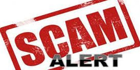 Scam Alert!  Tips to Avoid Scams tickets