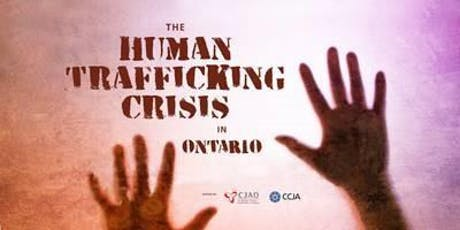 Human Trafficking Crisis in Ontario tickets