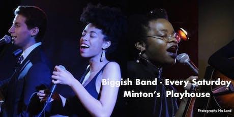 Minton's Playhouse: Biggish Band + Joy Hanson, Vanisha Gould & Nico Sarbanes tickets