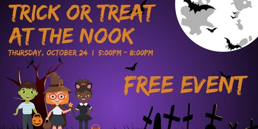 Trick or Treat at The Nook