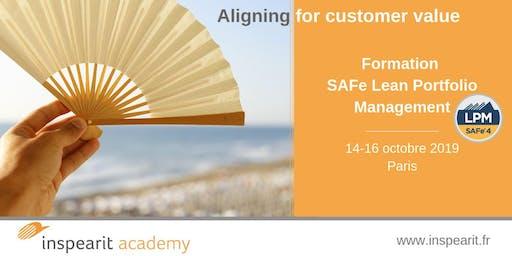 Formation SAFe Lean Portfolio Management