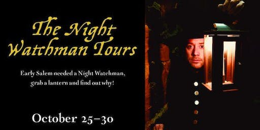 Old Salem Halloween Tour