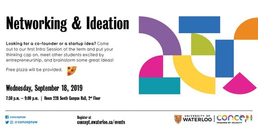 Intro Session: Networking & Ideation