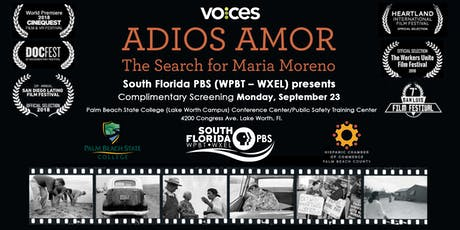 VOCES: Adios Amor The Search for Maria Moreno tickets
