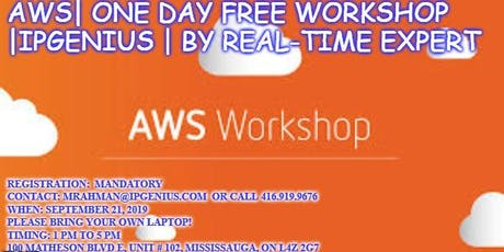 AWS| ONE DAY FREE WORKSHOP | SYSIIT IPGENIUS | By Real-Time Expert tickets