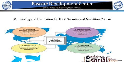 Monitoring and Evaluation for Food Security and Nutrition Course