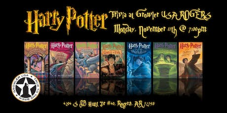 Harry Potter (Books) Trivia at Growler USA Rogers tickets