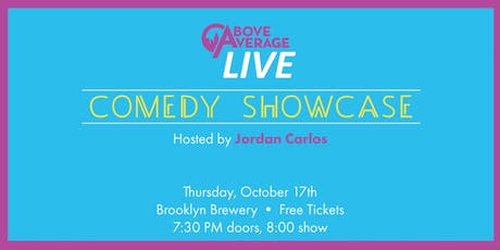 Above Average LIVE! tickets