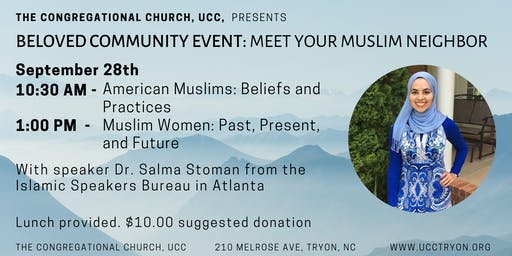 Beloved Community Event- American Muslims:Beliefs and Practices