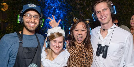 Halloween Silent Disco by the Bay @ Pier 23 tickets