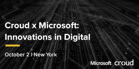Croud x Microsoft: Innovations in Digital tickets