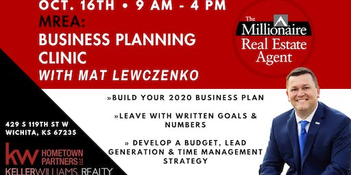 Business Planning Clinic with Mat Lewczenko