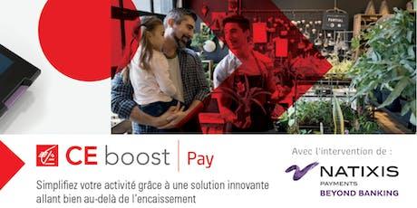 """Café Numérique """"Simplifiez vos encaissements avec CE Boost Pay"""" billets"""