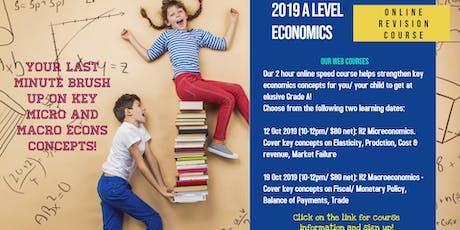A Level Economics Crash Course tickets