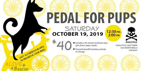 Pedal for Pups tickets
