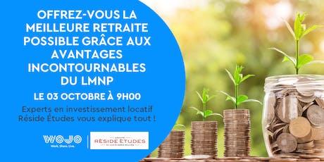 Offrez-vous la meilleure retraite possible grâce aux avantages du LMNP billets