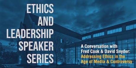 Ethics & Leadership Speaker Series tickets