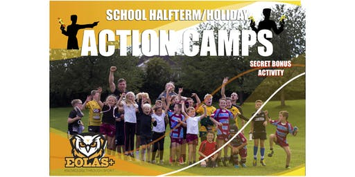 ACTION CAMP - OCTOBER HALF TERM