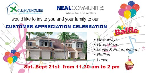 Customer Appreciation Celebration
