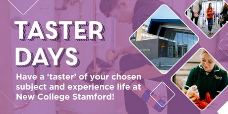 Taster Day tickets