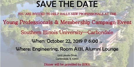 IRWA Young Professionals & Membership Campaign tickets