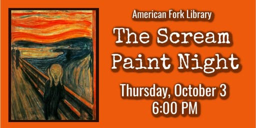 The Scream Paint Night