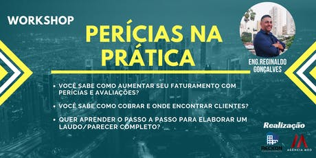 WORKSHOP PERÍCIAS NA PRÁTICA tickets