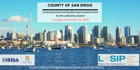 County of San Diego - Laboratory Systems Improvement Program (L-SIP) 2019 tickets
