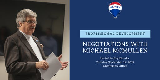 Professional Development - Negotiations w/ Michael McMullen