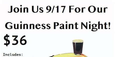 Halfway to St. Patrick's Day! Paint a Vintage Guinness Ad tickets