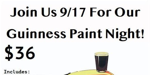Halfway to St. Patrick's Day! Paint a Vintage Guinness Ad