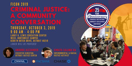 [FICON 2019] Criminal Justice: A Community Conversation